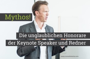 Keynote Speaker Honorare Redner - Roman Kmenta