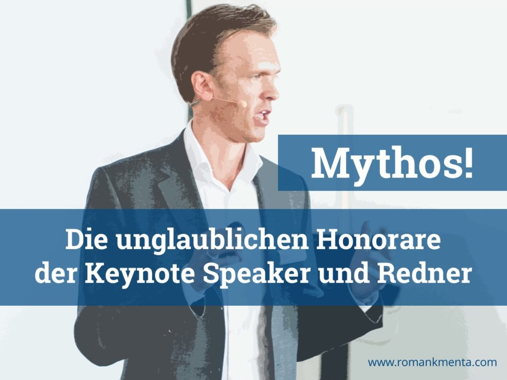 Roman Kmenta - Keynote Speaker - Redner - Vortragender