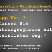 Preispsychologie im Verkauf Praxistipp Kmenta