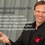 5 preispsychologische Tipps für Preislisten