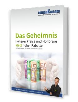 E-Book Kmenta Geheimnis Wertsteigerung Berater Trainer Coaches