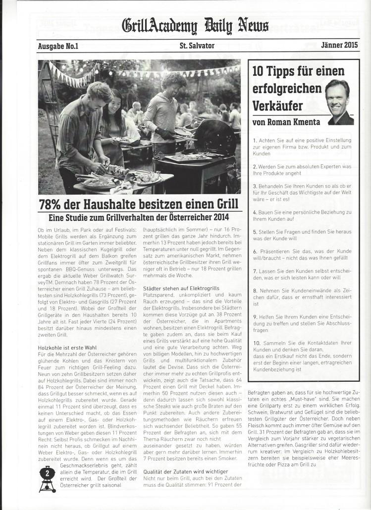 Artikel Weber Grill