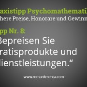 Praxistipp Preispsychologie Kmenta Redner