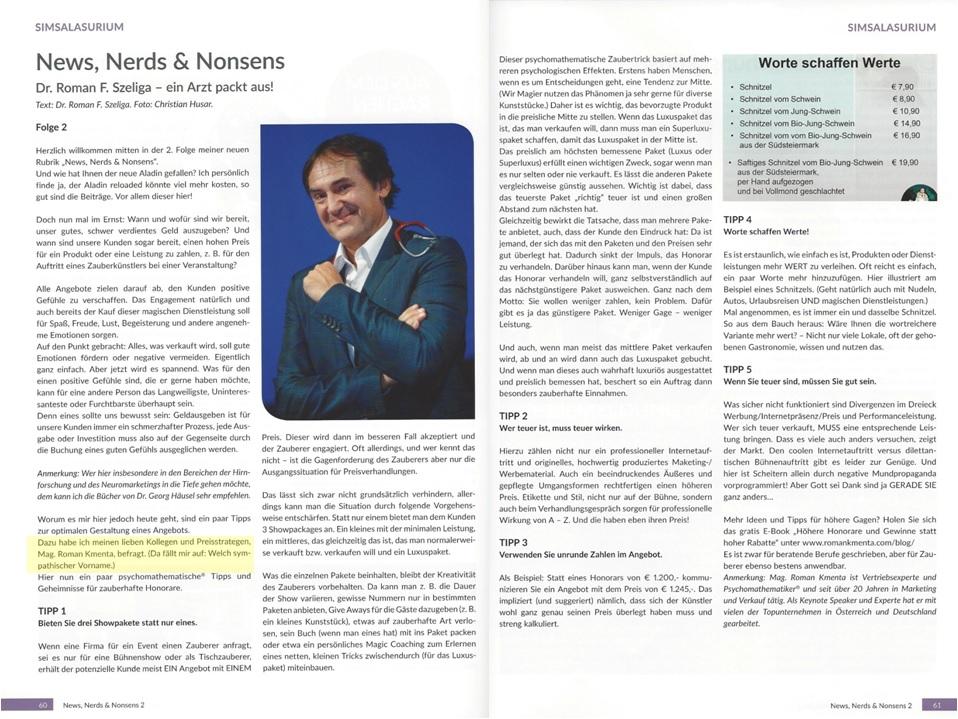 Interview Aladin Szeliga Kmenta