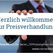 Preisverhandlung vermeiden - Roman Kmenta - Vortragsredner und Autor