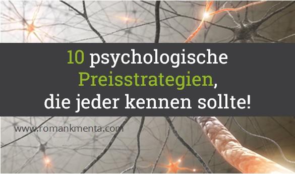 Preispsychologie, Preisstrategien - Kmenta, Autor und Vortragsredner