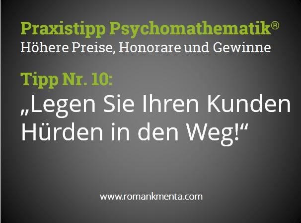 Praxistipp Psychomathematik 10