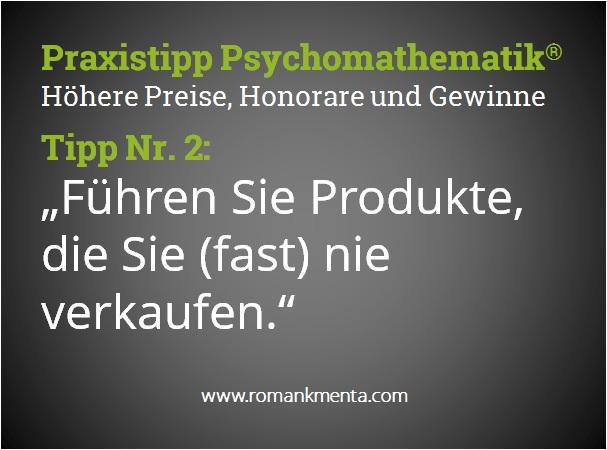 Praxistipp Psychomathematik 2