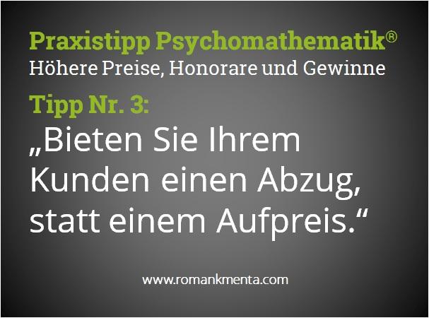 Praxistipp Psychomathematik 3