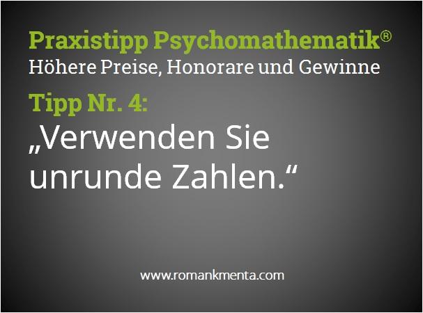 Praxistipp Psychomathematik 4