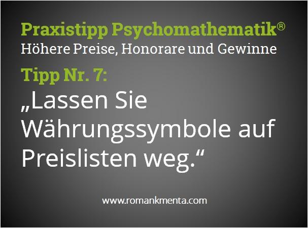 Praxistipp Psychomathematik 7