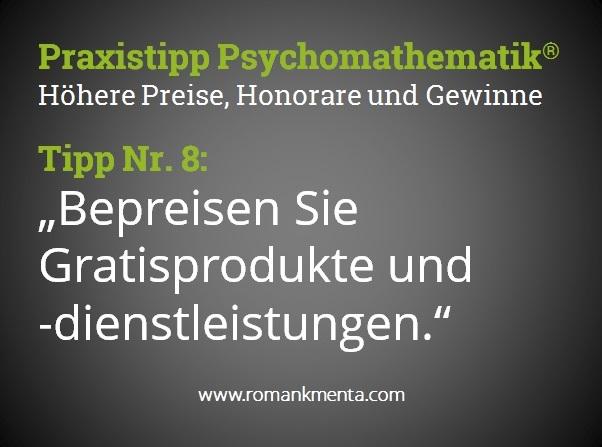 Praxistipp Psychomathematik 8