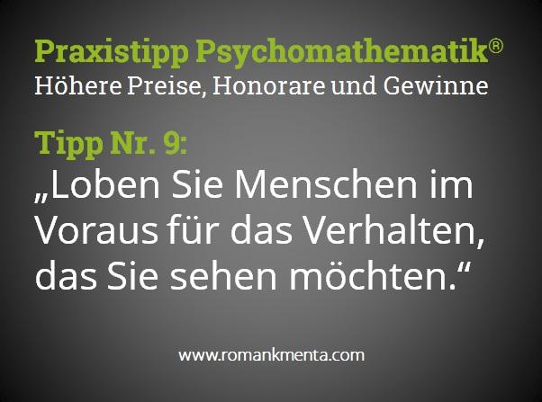 Praxistipp Psychomathematik 9