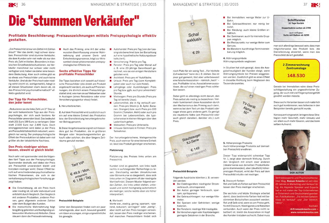 Preischilder - Roman Kmenta - a3 ECO 10/2015