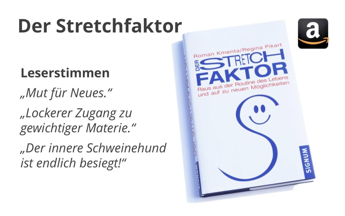 Roman Kmenta, Autor und Keynote Speaker, Buch Stretchfaktor