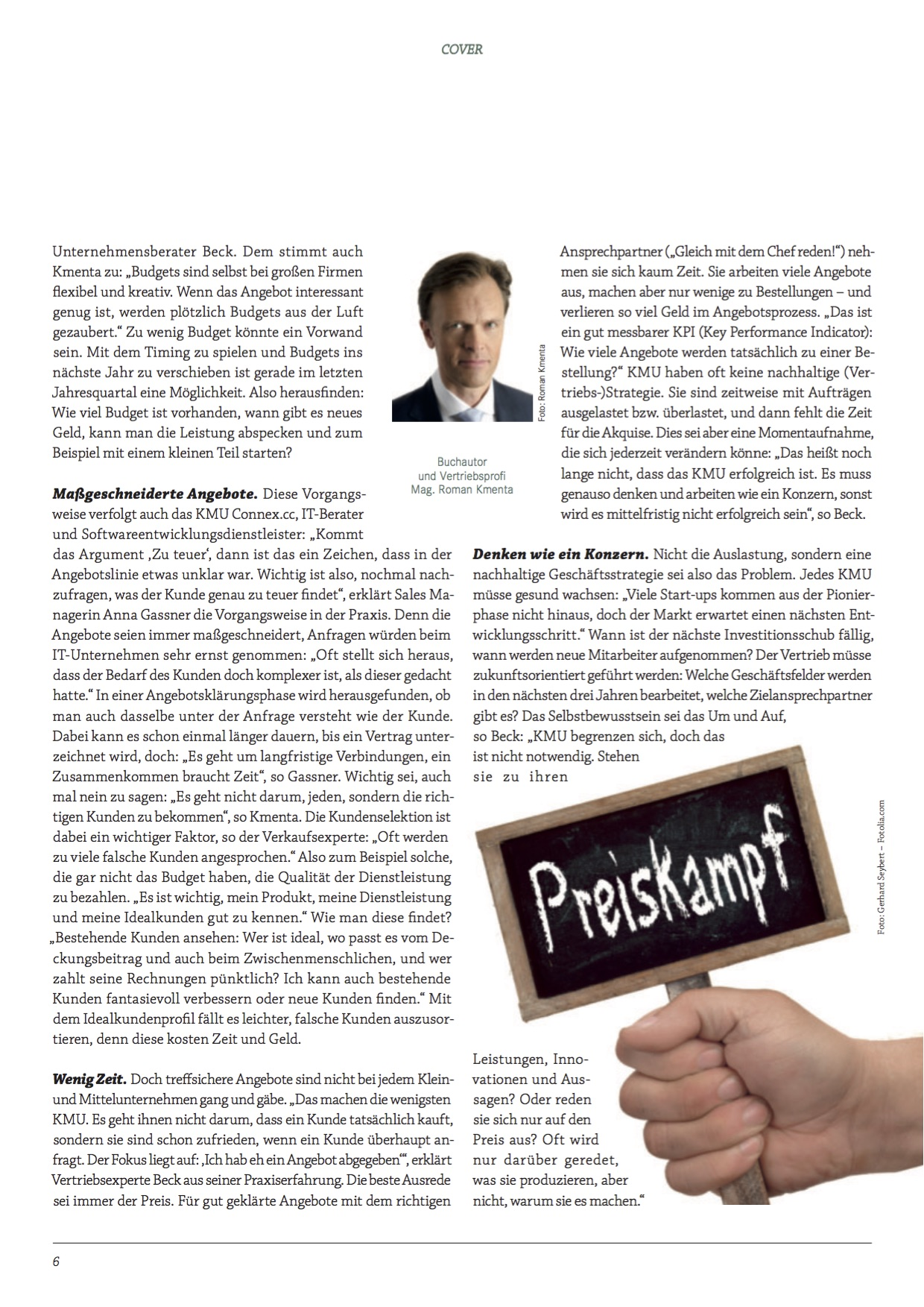 Preiskampf - forum.ksv05-2015 - 3 - Kmenta - Autor und Keynote Speaker