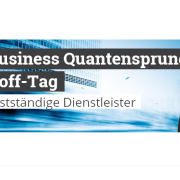 Der Business Quantensprung Kick-Off-Tag - Roman Kmenta - Autor und Vortragsredner