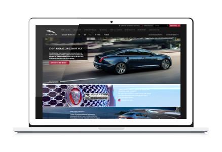 Jaguar Webseite