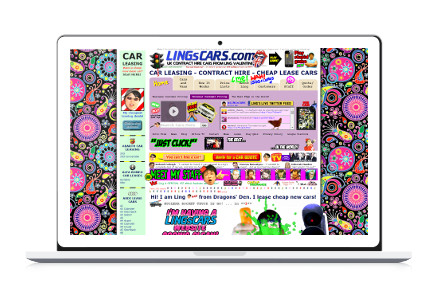 LingsCars Webseite