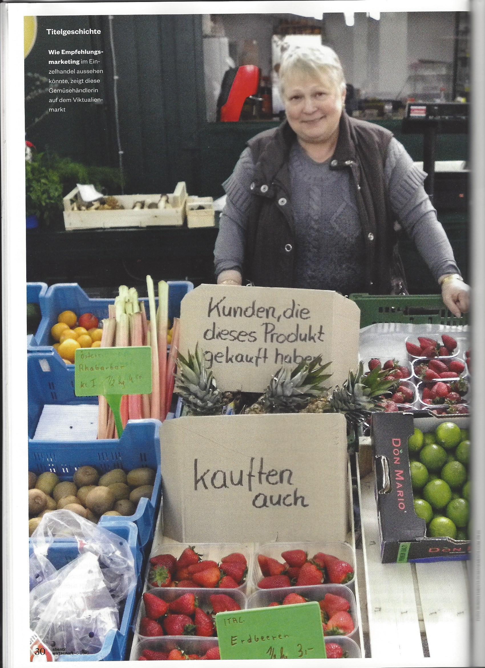 absatzwirtschaft zeitschrift für Marketing - Artikel Roman Kmenta - Seite 30 - 5/2016 - Roman Kmenta - Unternehmer und Keynote Speaker