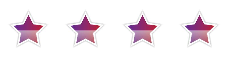 Sternen Bewertung