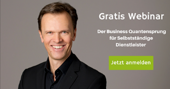 Gratis Webinar - der Business Quantensprung - Roman Kmenta - Keynote Speaker und Vortragsredner