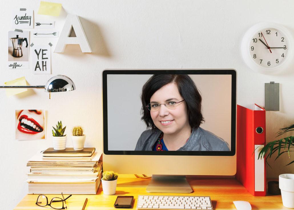 Zeitmanagement und Raumgestaltung - Maria Husch auf Blob Roman Kmenta