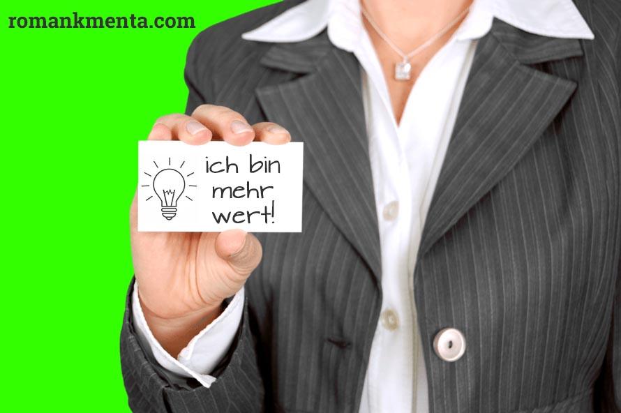 Beitragsbild - Dein Wert entsteht im Kopf - Gastbeitrag bei Petra R. Lehner - Roman Kmenta - Keynote Speaker und Trainer