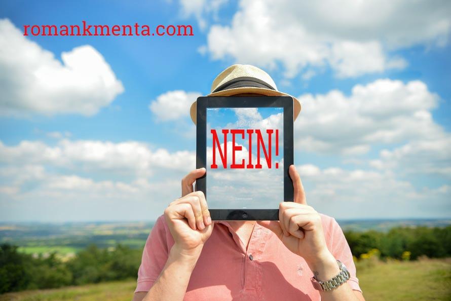 Nein - Das profitablste Wort - Gastbeitrag bei Vivienne Posch - Roman Kmenta - Keynote Speaker und Trainer