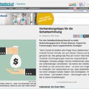 derstandard.at - Ungewöhnliche Strategien für Ihre Gehaltsverhandlung - Mag. Roman Kmenta - Unternehmer und Trainer
