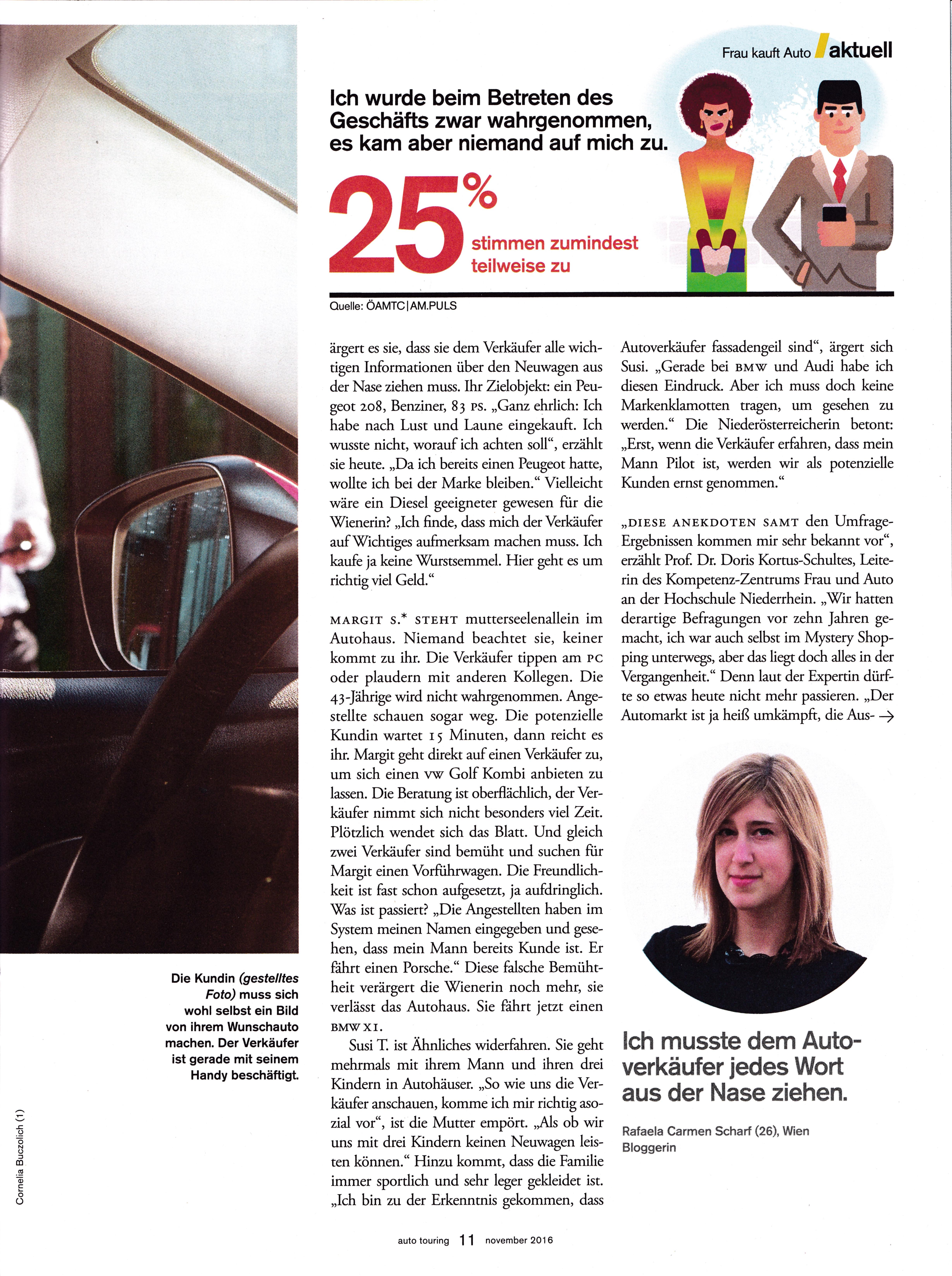 auto touring - november 2016 Seite 2 - Roman Kmenta - Speaker und Autor