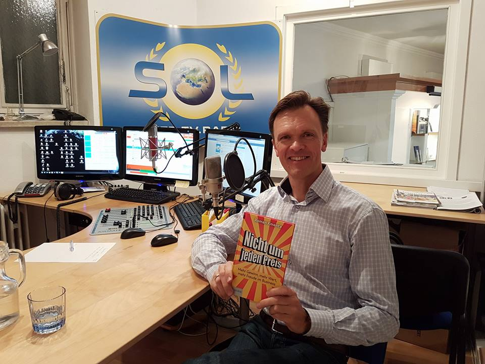 Interview bei Radio SOL - Roman Kmenta - Autor und Keynote Speaker