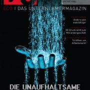 a3 ECO 12/2016 - Cover - Anders sein statt billiger - Roman Kmenta - Keynote Speaker und Trainer