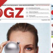 ÖGZ 12/2016 - Cover - Roman Kmenta - Autor und Trainer