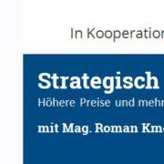 Strategisch Führen mit Profit - Workshop - Roman Kmenta - Trainer und Workshopleiter