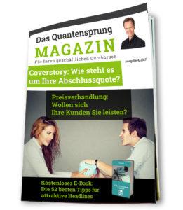 Tipps für Unternehmer - Das Quantensprung Magazin - Roman Kmenta - Keynote Speaker und Autor