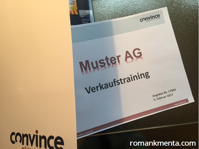 Angebotsgestaltung - Roman Kmenta - Keynote Speaker und Unternehmer