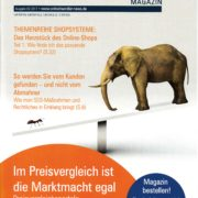 Cover Online Händler Magazin 03-2017 - Obststand - USP - Roman Kmenta - Ideendesigner