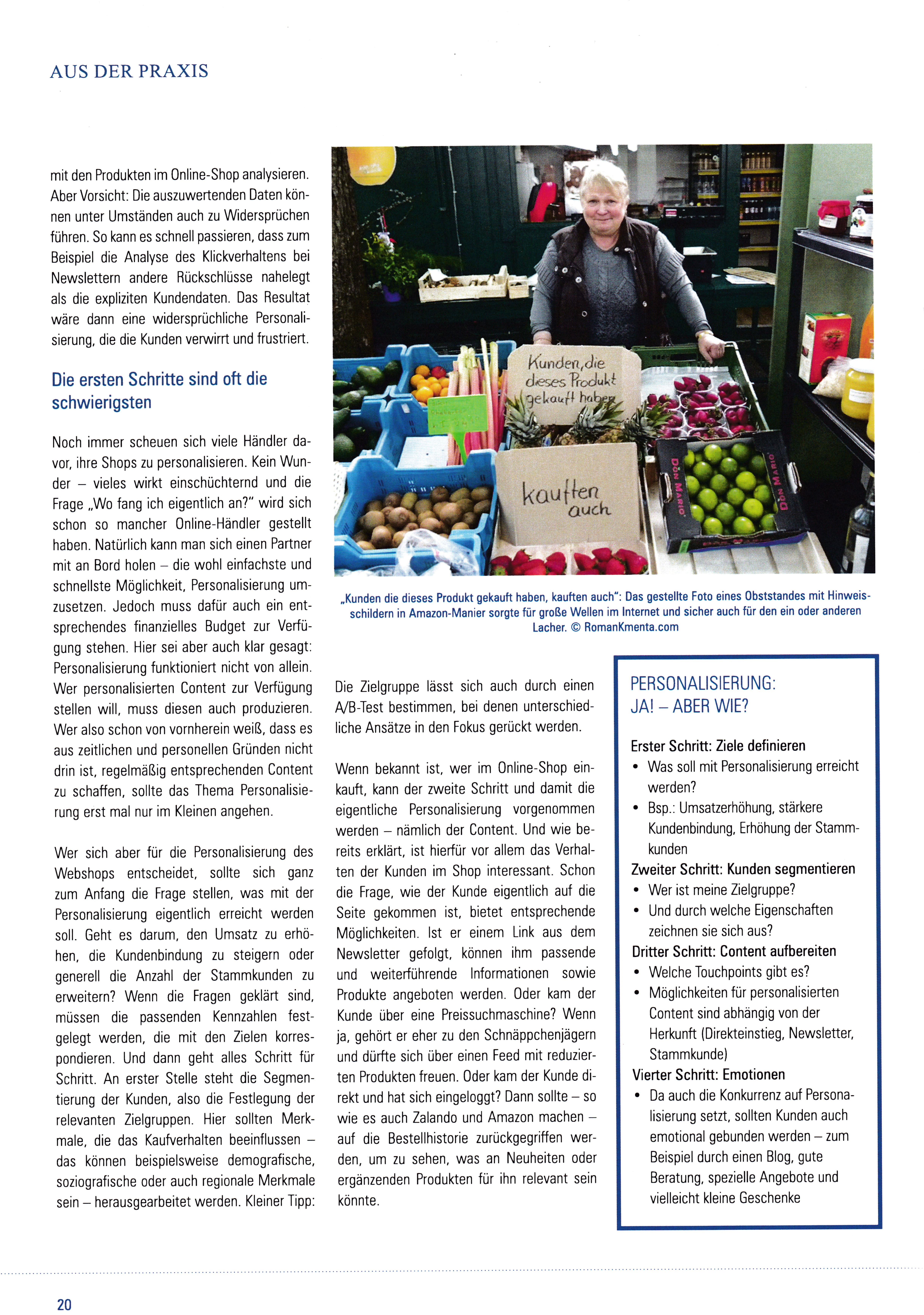 Online Händler Magazin 03-2017 1 - Obststand - USP - Roman Kmenta - Ideendesigner