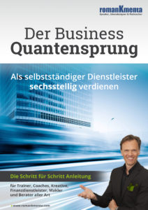 E-Book Business Quantensprung - Sechsstellig verdienen als Dienstleister