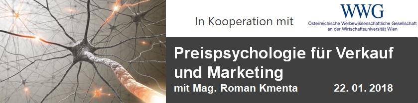 Preispsychologie für Verkauf und Marketing - Roman Kmenta - Seminarleiter. Experte für Preispsychologie