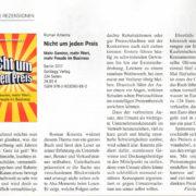 """Buchtipp """"Nicht um jeden Preis"""" - Preisstrategien- iX Magazin Mai 2017 - Roman Kmenta - Autor und Keynote Speaker"""