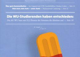 ÖH WU Magazin Steil Titelseite -Roman Kmenta im Interview - Was wurde aus 8450203