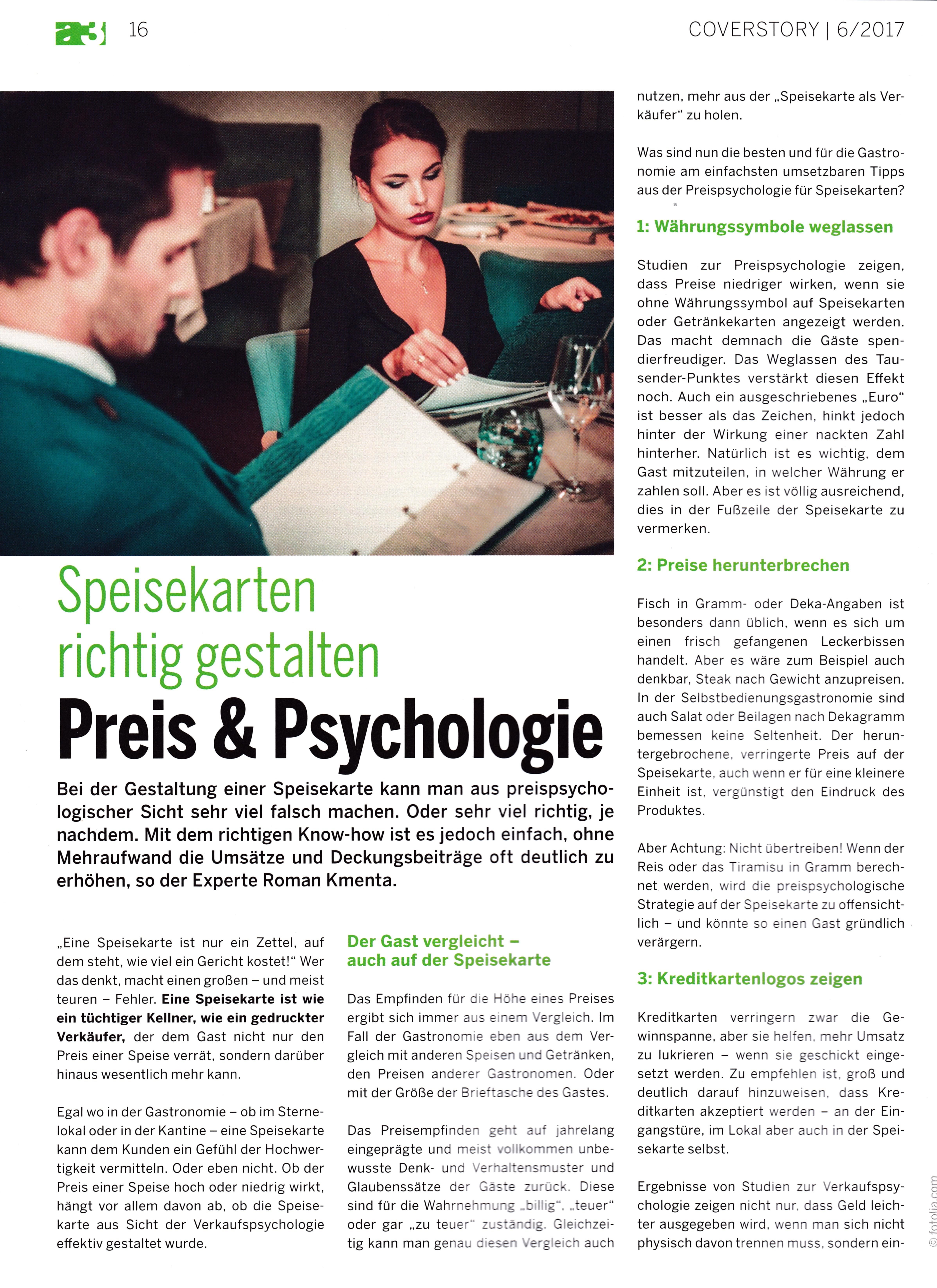 a3 Gast 6_2017 1 - Roman Kmenta - Experte für Preispsychologie, Berater und Trainer