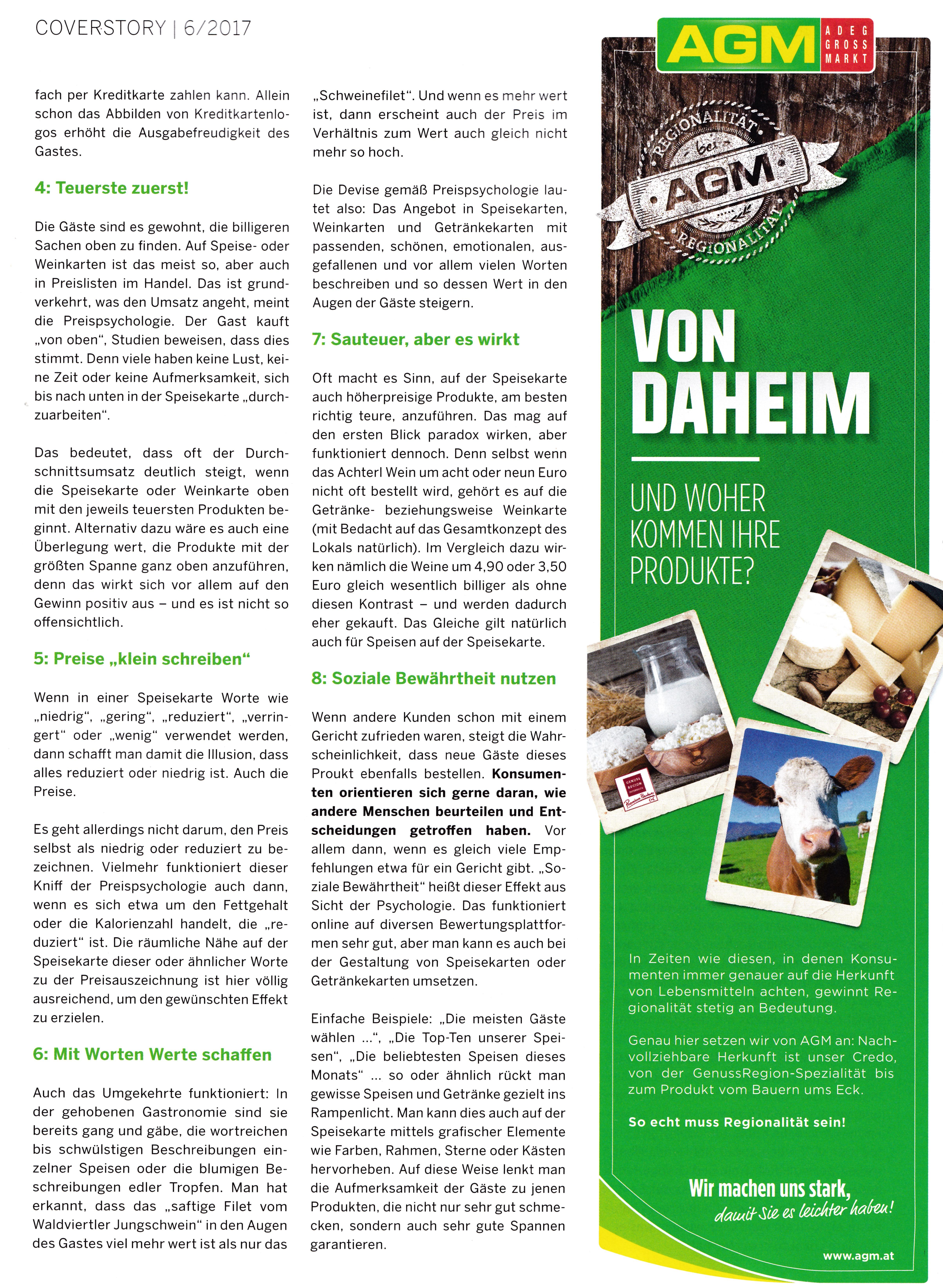 a3 Gast 6_2017 2 - Roman Kmenta - Experte für Preispsychologie, Berater und Trainer
