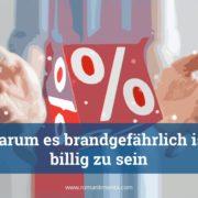 Preisstrategie billig - Roman Kmenta - Redner und Preisexperte