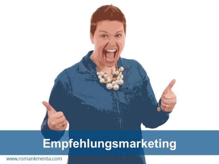 Empfehlungsmarketing - Kmenta Redner und Business Coach