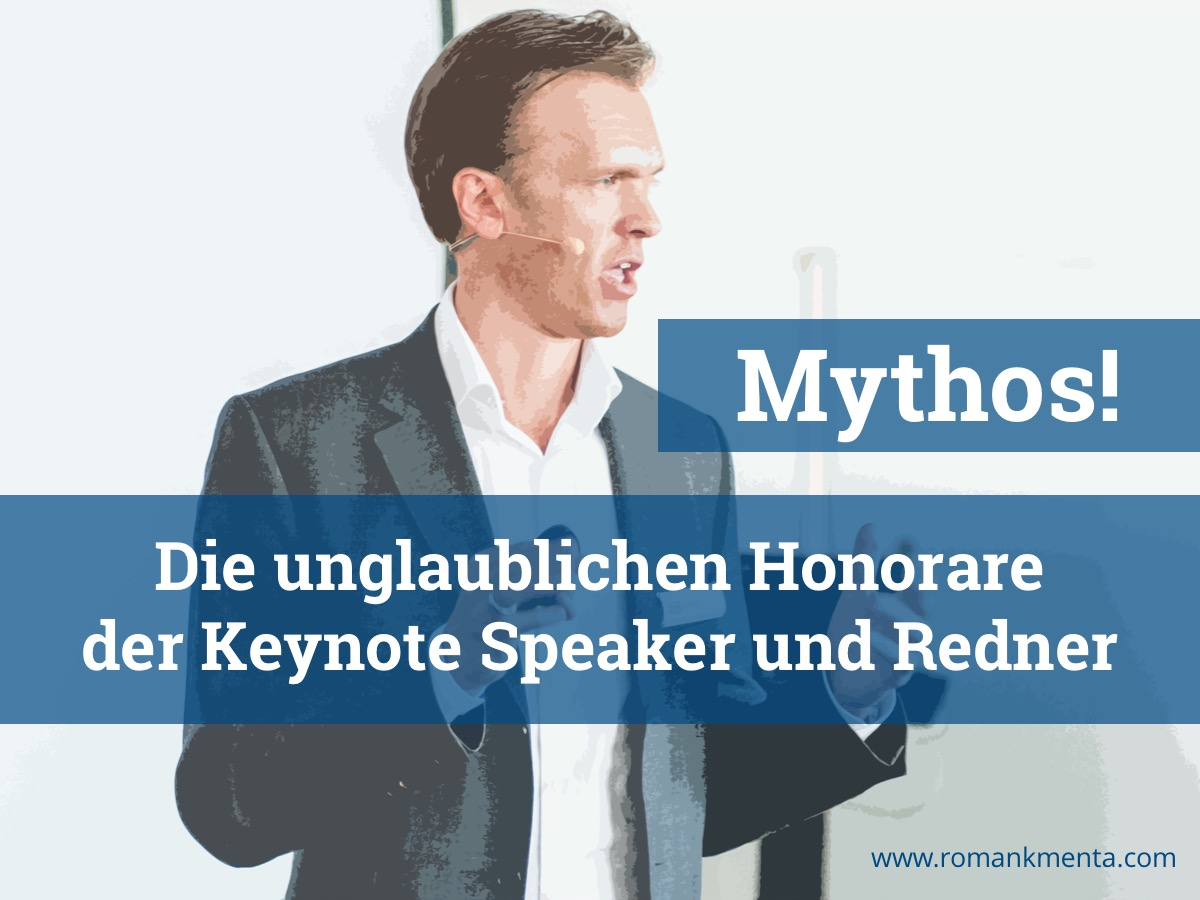 Redner - Roman Kmenta - Keynote Speaker und Redner