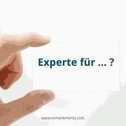 Expertenbezeichung - Roman Kmenta - Redner und Business Coach