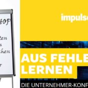 impulse konferenz - Aus Fehlern lernen - Workshop Mag. Roman Kmenta - Trainer und Keynote Speaker